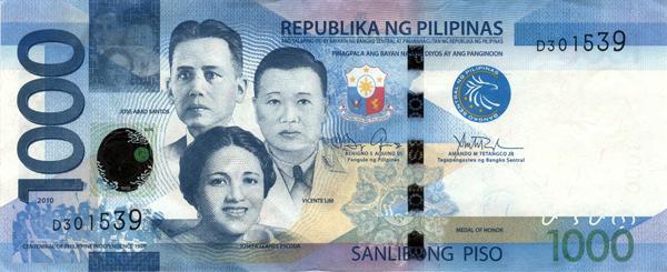 1000-peso bill