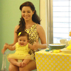Behind the Scenes: Smart Parenting's August Shoot with Andi Eigenmann  and Ellie