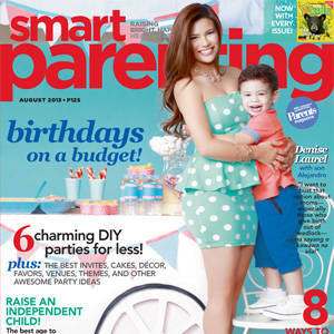 Denise Laurel is our Birthday Special Cover Mom!