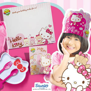Celebrate a Hello Kitty Birthday with Jollibee Kids Party