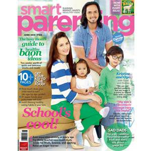 On Smart Parenting's June Issue: Oyo, Kristine, Quiel and Ondrea Sotto