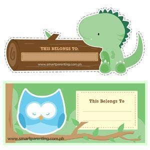 Download Smart Parenting's Back-to-School Stickers 2013!