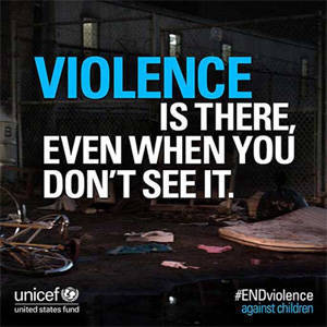 UNICEF Urges Urgent Action to Fight Violence against Children