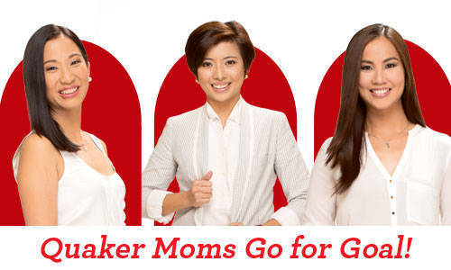 Quaker Moms Go for Goal!