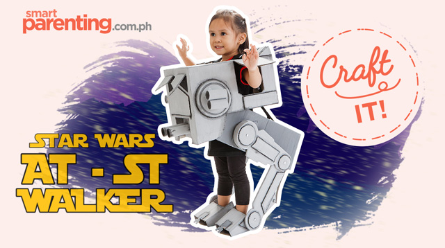 Craft It: D-I-Y Star Wars AT-ST Costume