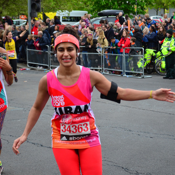 "Woman Runs Marathon Without a Tampon to Fight the ""Stigma of Periods"""