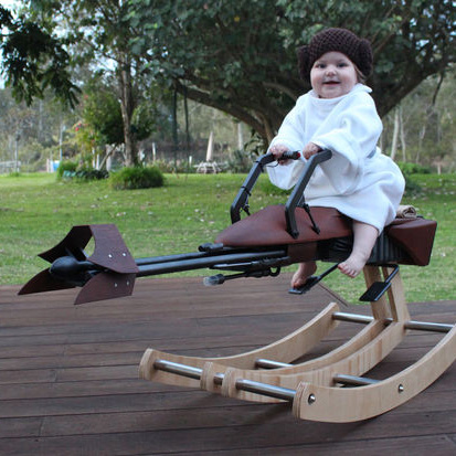 Check Out This Awesome Star Wars-Inspired Baby Rocker