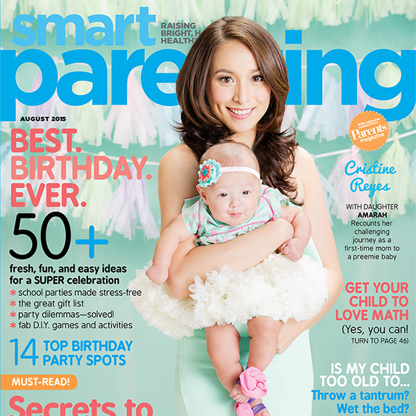 Cristine Reyes Debuts Real-life Role As Mom In Our August Issue