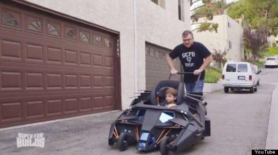 baby batman mobile