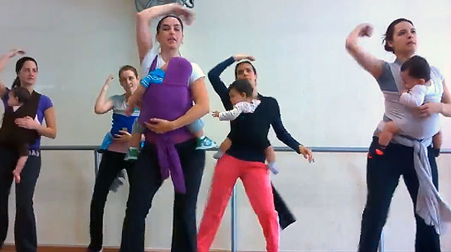Dance Workout For Babywearing Moms and Babies: Yay or Nay?