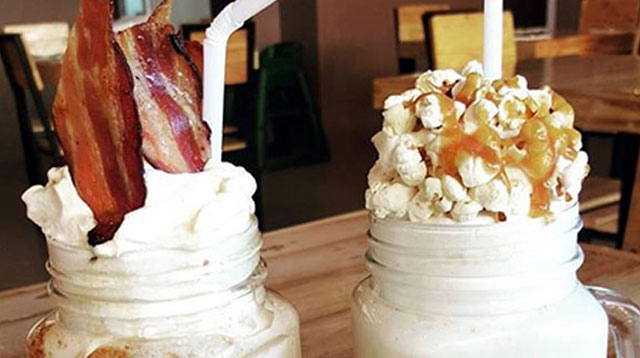 Look Who's Making Their Own Bacon Milkshakes!