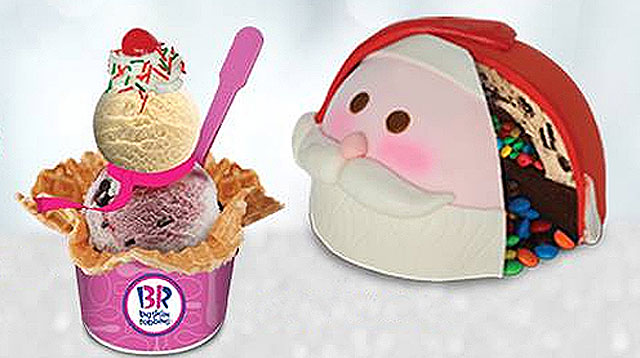 Baskin-Robbins' Santa Ice Cream Cake is Hard To Resist