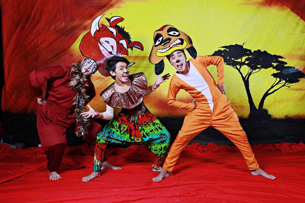 The Lion King mini-musical