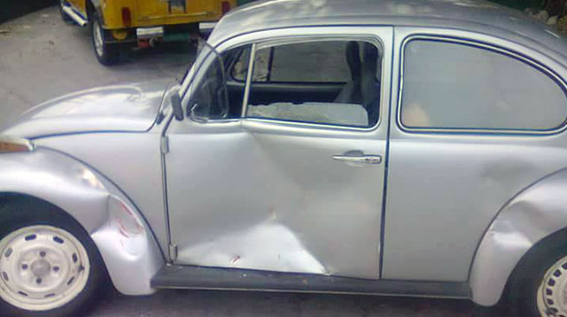 This Beetle Was Sold By Its Owner After An Accident; His Kids Bought It Back For Him