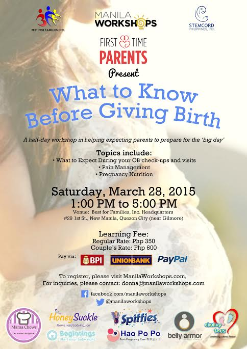 First Time Parents: What to Know Before Giving Birth poster