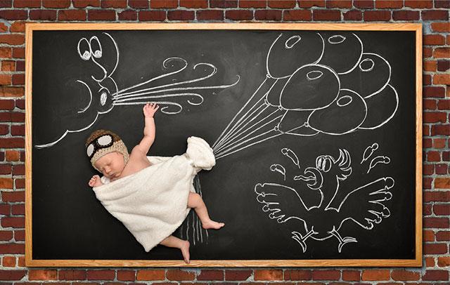 Blackboard Baby 1