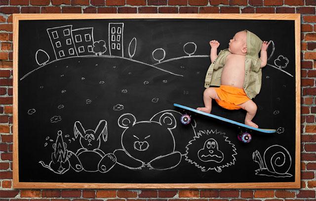 Blackboard Baby 2