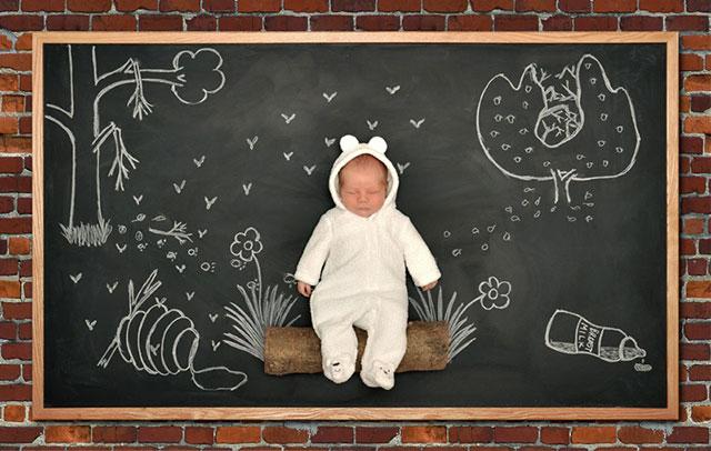 Blackboard Baby 3