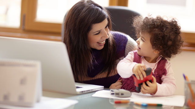 7 Tips to Keep Your Sanity Intact When Bringing Your Kids To Work