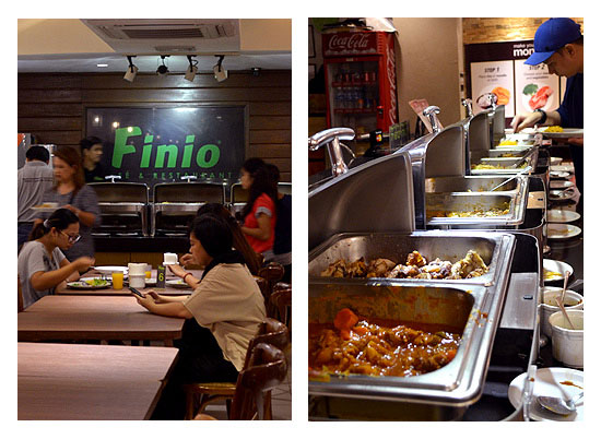 Buffet Under P300 Finio