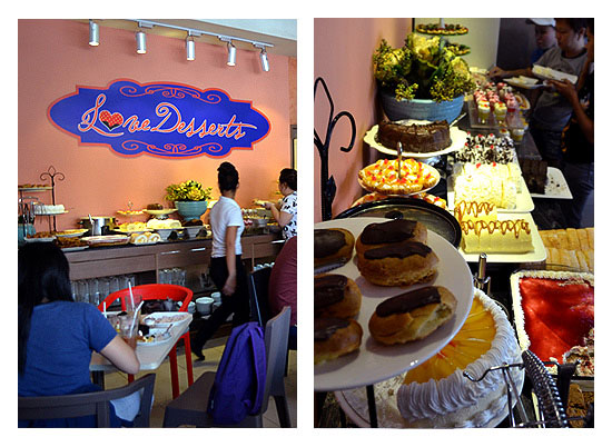 Buffet Under P300 Love Desserts