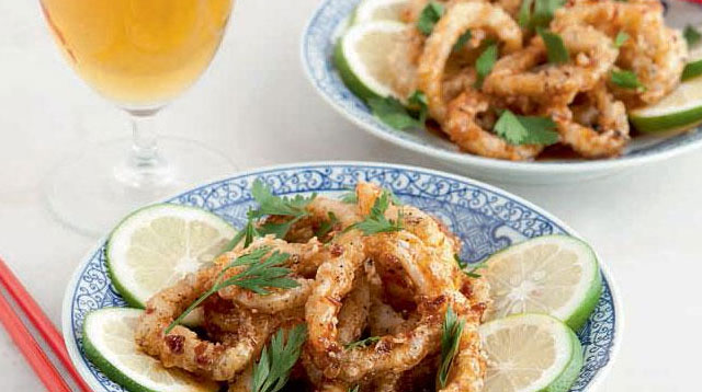 Weekend Recipe: Aligue-Glazed Calamari Recipe