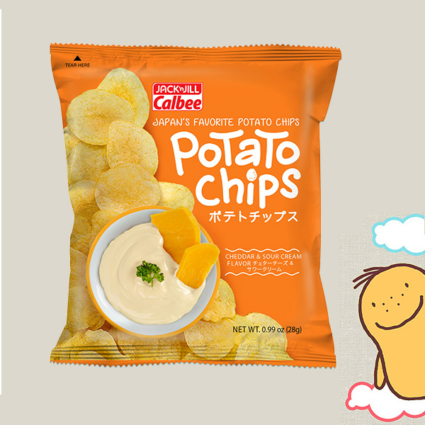 Meet the #PotatoInTheCity: Jack 'n Jill Calbee Potato Snack is Finally Here!