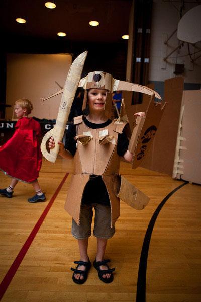 Cardboard camp armor2