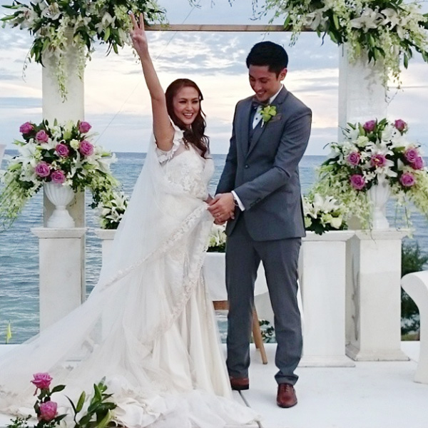 Top of the Morning: Cesca Litton Gets Married in Bohol