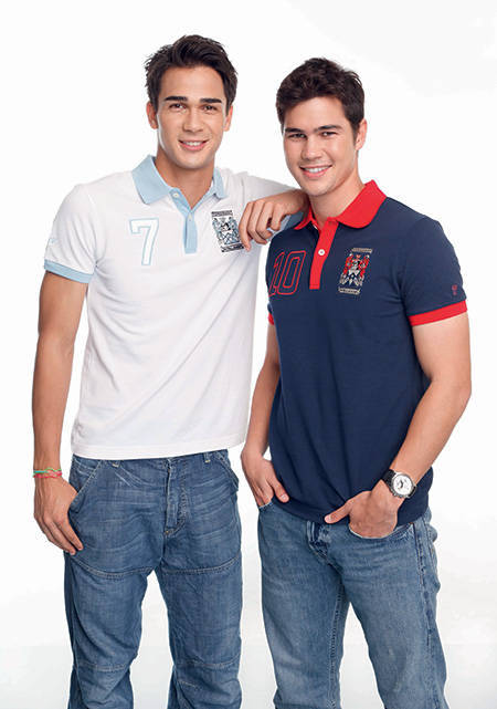 Phil and James Younghusband