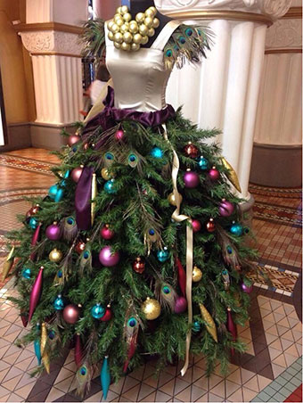 Christmas tree fashion