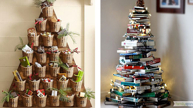 5 Creative Christmas Trees You Can Recreate At Home