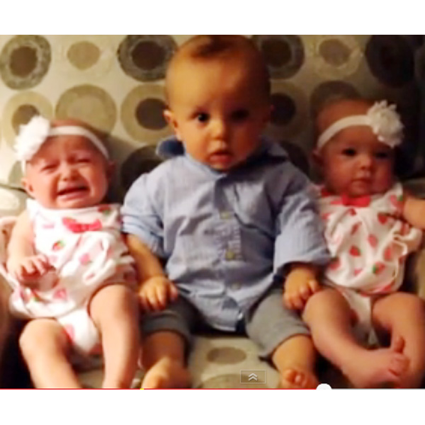 This Made our Day: Baby Confused with Twins