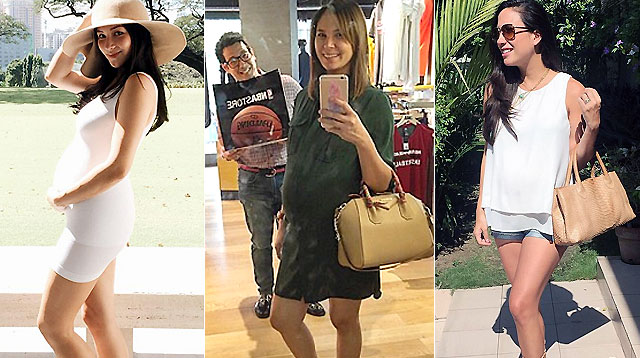 This Week in Celebrity Preggy Fashion: Isabel, Stephanie, Mikaela, and Chrissy