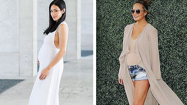 This Week in Celebrity Preggy Fashion: Isabel, Mikaela, Stephanie and Chrissy