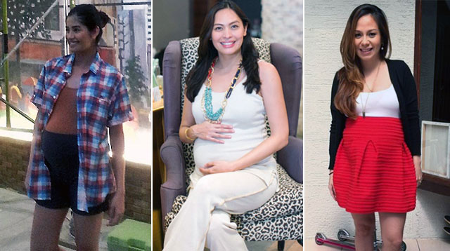 This Week In Celebrity Preggy Fashion: Nikka, Isabel, Shamcey, Stephanie, Chrissy, and Anne