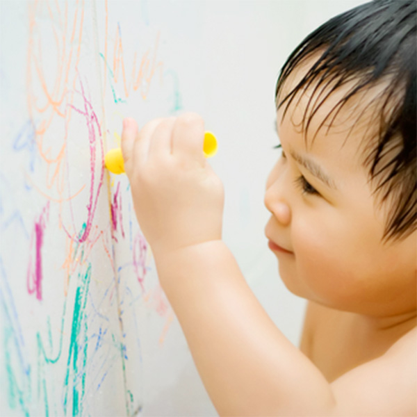Mommy Hack of the Week: Erase Crayon Marks from Walls Easily