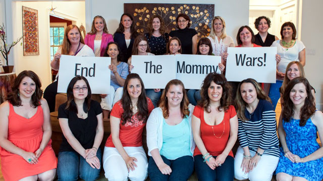 "Every Mom Must See This ""End The Mommy Wars"" Photo Campaign"