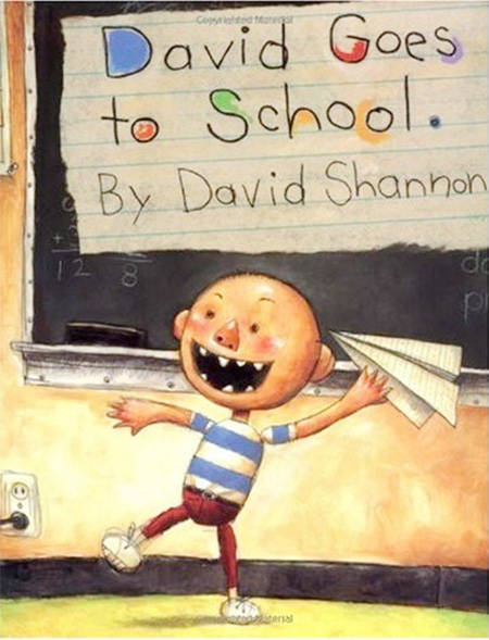 David goes back to school
