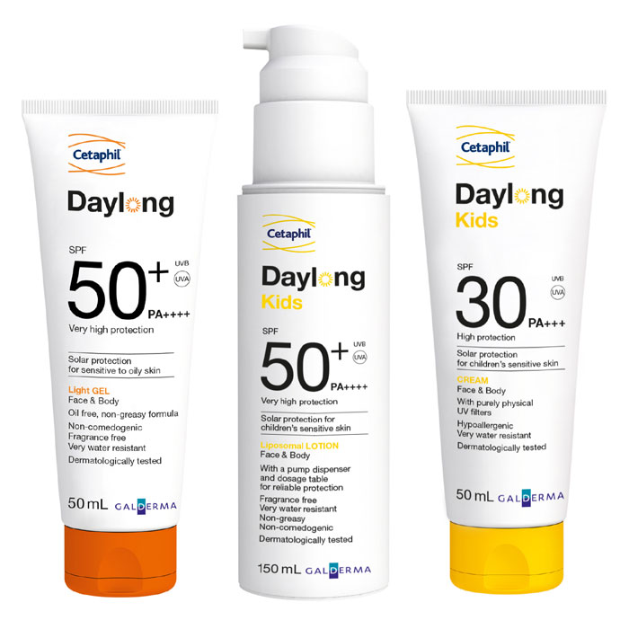 Cetaphil Unveils Daylong, a New Line of Sunscreen Products