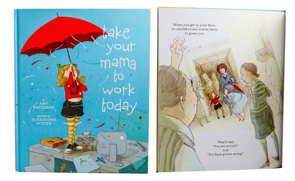 Take your Mama to Work book