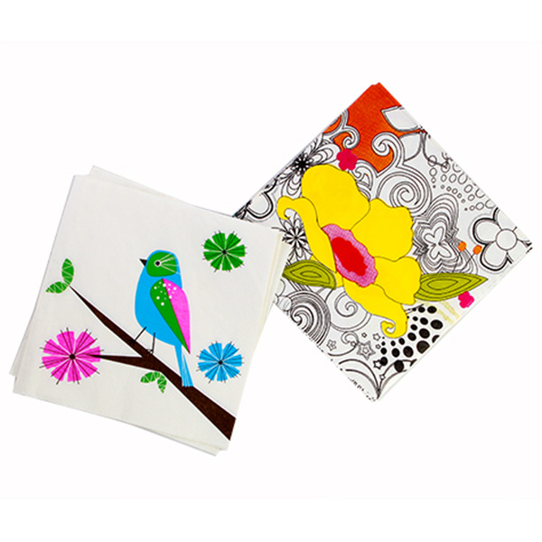 Daily Dose of Cute: Flora and Fauna Napkins
