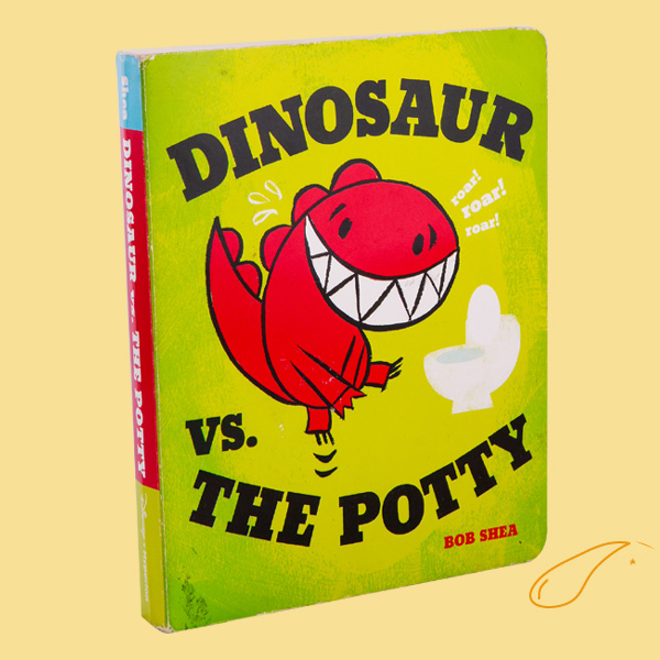 Daily Dose of Cute: Dinosaur vs the Potty Book