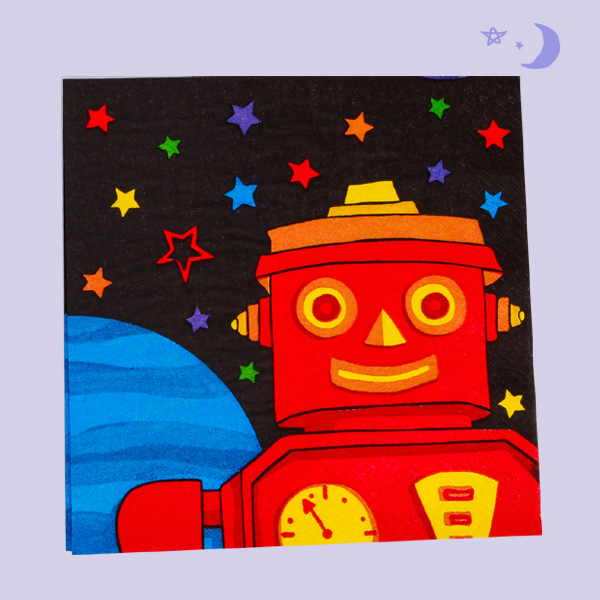 Daily Dose of Cute: Outer Space-themed Table Napkins