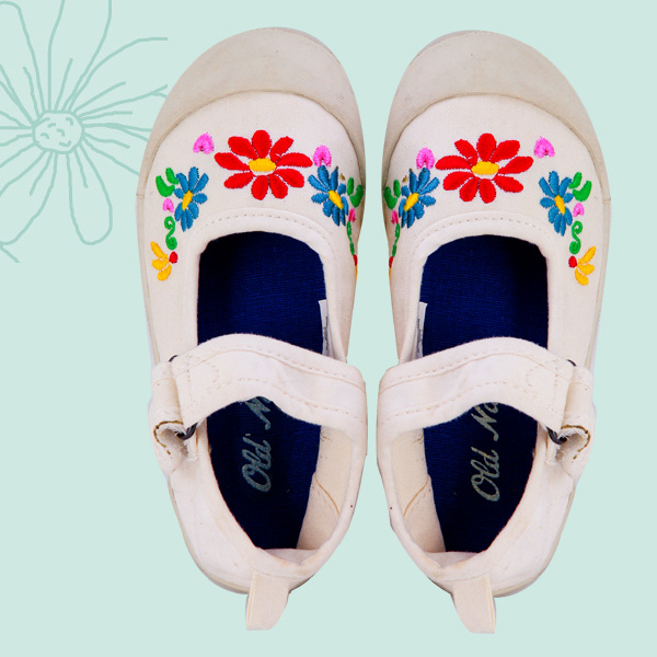 Daily Dose of Cute: Floral Maryjanes