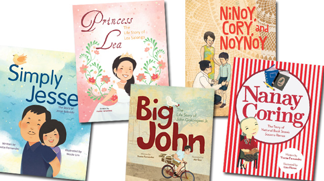 Meet the 5 Extraordinary Filipinos in the Dream Big Books Collection