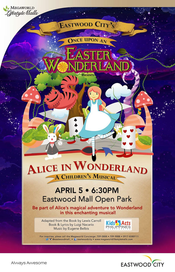 Alice in Wonderland: A Children's Musical poster