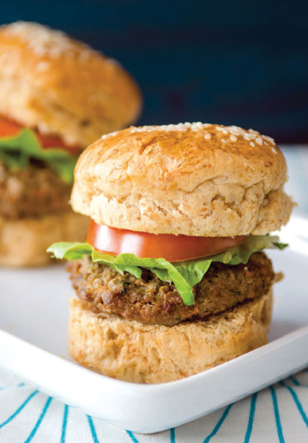 ECL beef burger sliders with malunggay