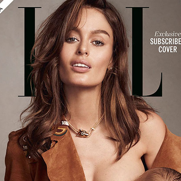 Top of the Morning: Elle Magazine Puts Breastfeeding Model on its Cover