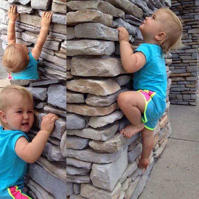 climber tot ellie